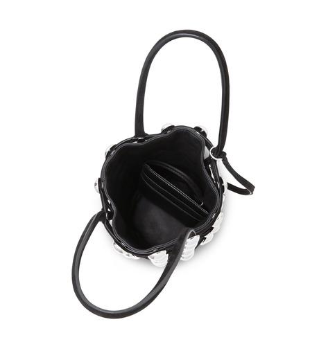 Alexander Wang(アレキサンダーワン)のRoxi Mini Bucket w/Studs-BLACK(ハンドバッグ/hand bag)-20C0038-13 詳細画像4