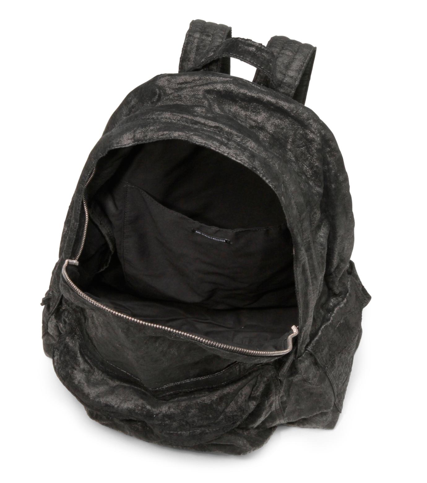 Ann Demeulemeester(アン ドゥムルメステール)のBack pack-BLACK-2102922008-13 拡大詳細画像4