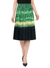 Altuzarra(アルトゥザラ) Dip Dye Print Pleated Skirt
