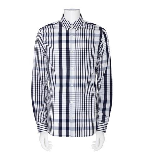ACNE STUDIOS(アクネ ストゥディオズ)のCheck Shirt-NAVY(シャツ/shirt)-21K163-93 詳細画像1