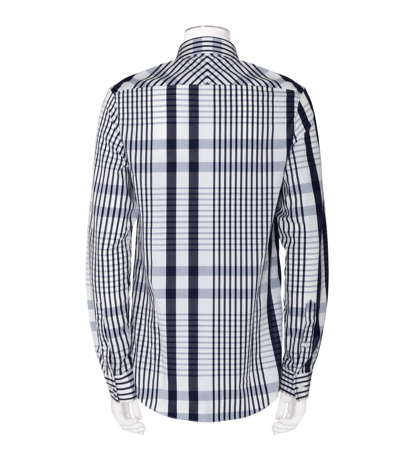 ACNE STUDIOS(アクネ ストゥディオズ)のCheck Shirt-NAVY(シャツ/shirt)-21K163-93 拡大詳細画像2