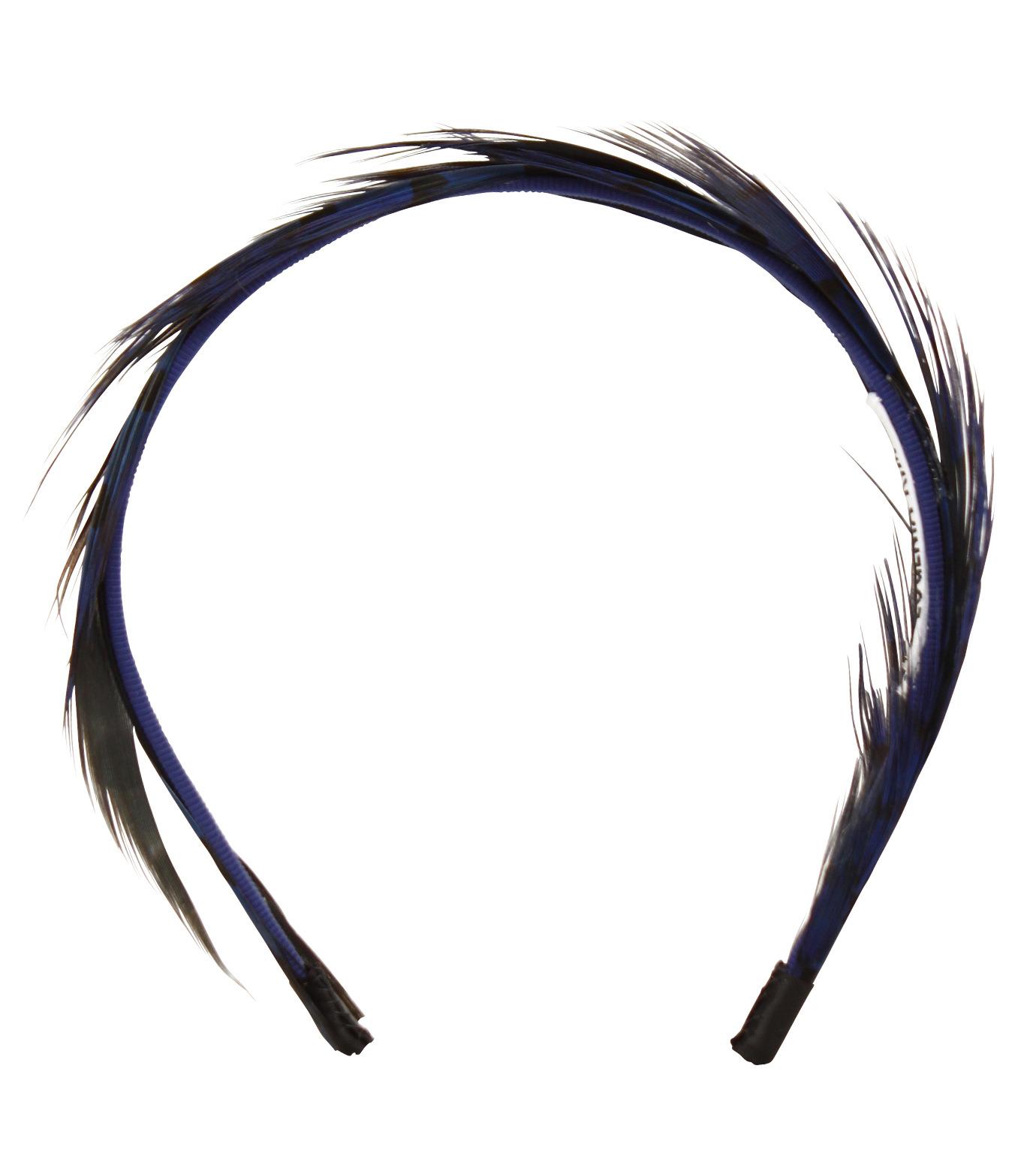 LE CIEL BLEU(ルシェルブルー)のFeather headband / Eugenia Kim-BLUE(アクセサリー/accessory)-2285-1447-L 拡大詳細画像1
