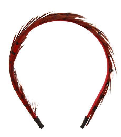 LE CIEL BLEU(ルシェルブルー)のFeather headband / Eugenia Kim-ROSE(アクセサリー/accessory)-2285-1449-L 詳細画像1