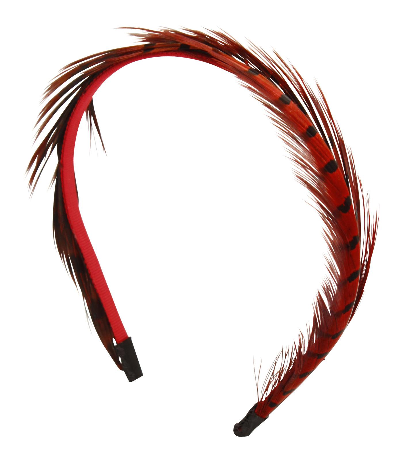 LE CIEL BLEU(ルシェルブルー)のFeather headband / Eugenia Kim-ROSE(アクセサリー/accessory)-2285-1449-L 拡大詳細画像2