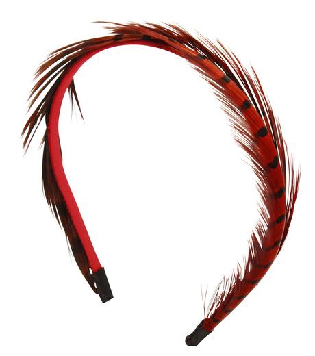 LE CIEL BLEU(ルシェルブルー)のFeather headband / Eugenia Kim-ROSE(アクセサリー/accessory)-2285-1449-L 詳細画像2