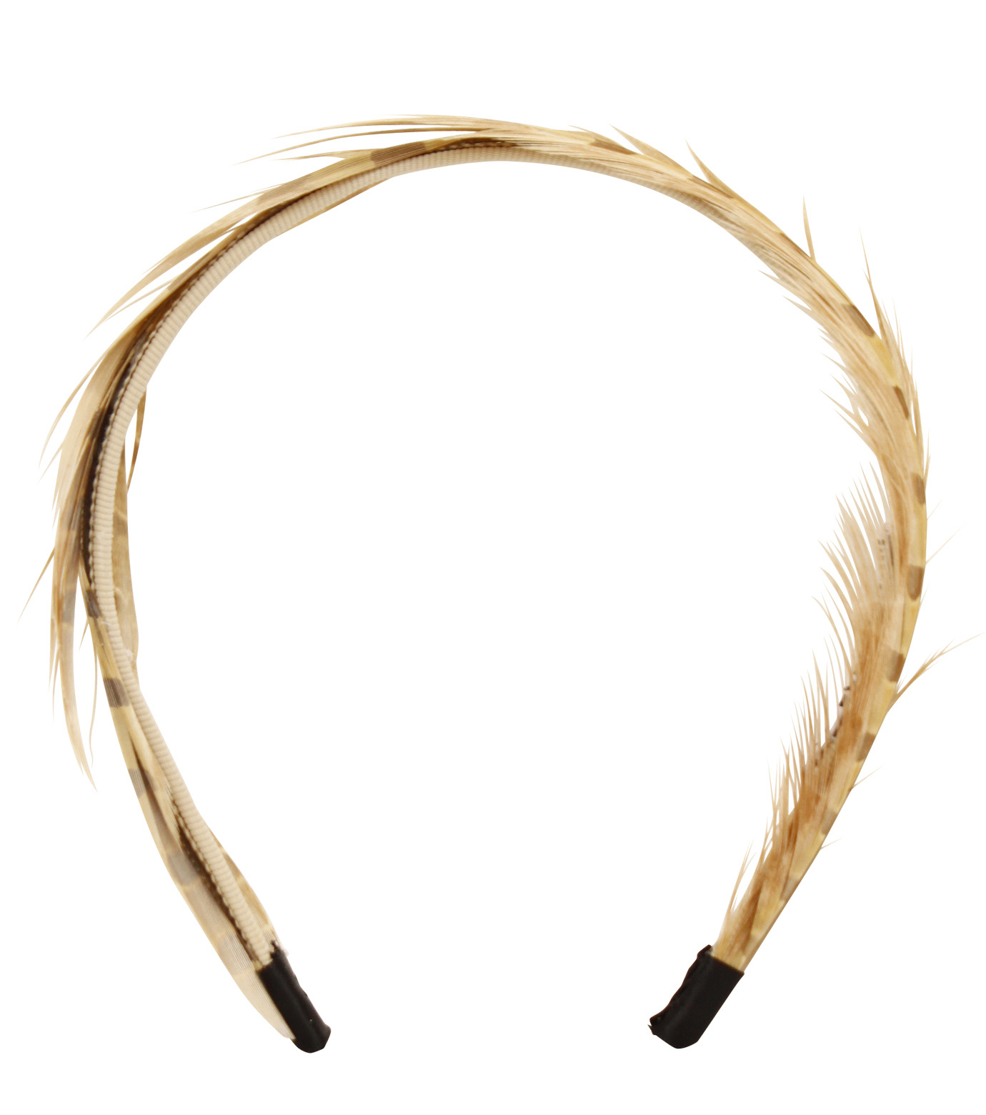 LE CIEL BLEU(ルシェルブルー)のFeather headband / Eugenia Kim-LIGHT BROWN(アクセサリー/accessory)-2323-1459-L 拡大詳細画像1