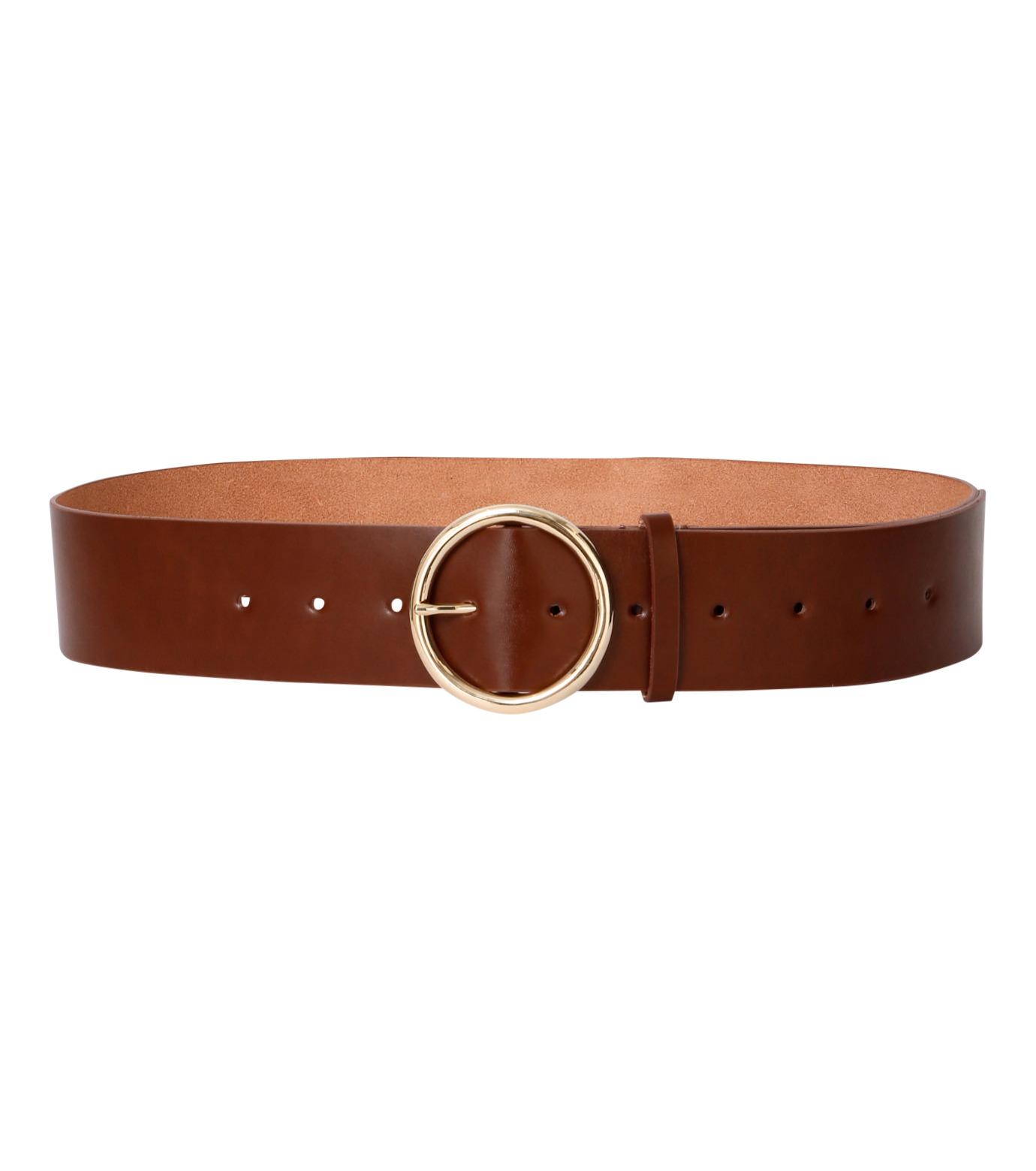 Casselini(キャセリーニ)のRing Buckle Belt-CAMEL(ベルト/belt)-24-0413-53 拡大詳細画像1