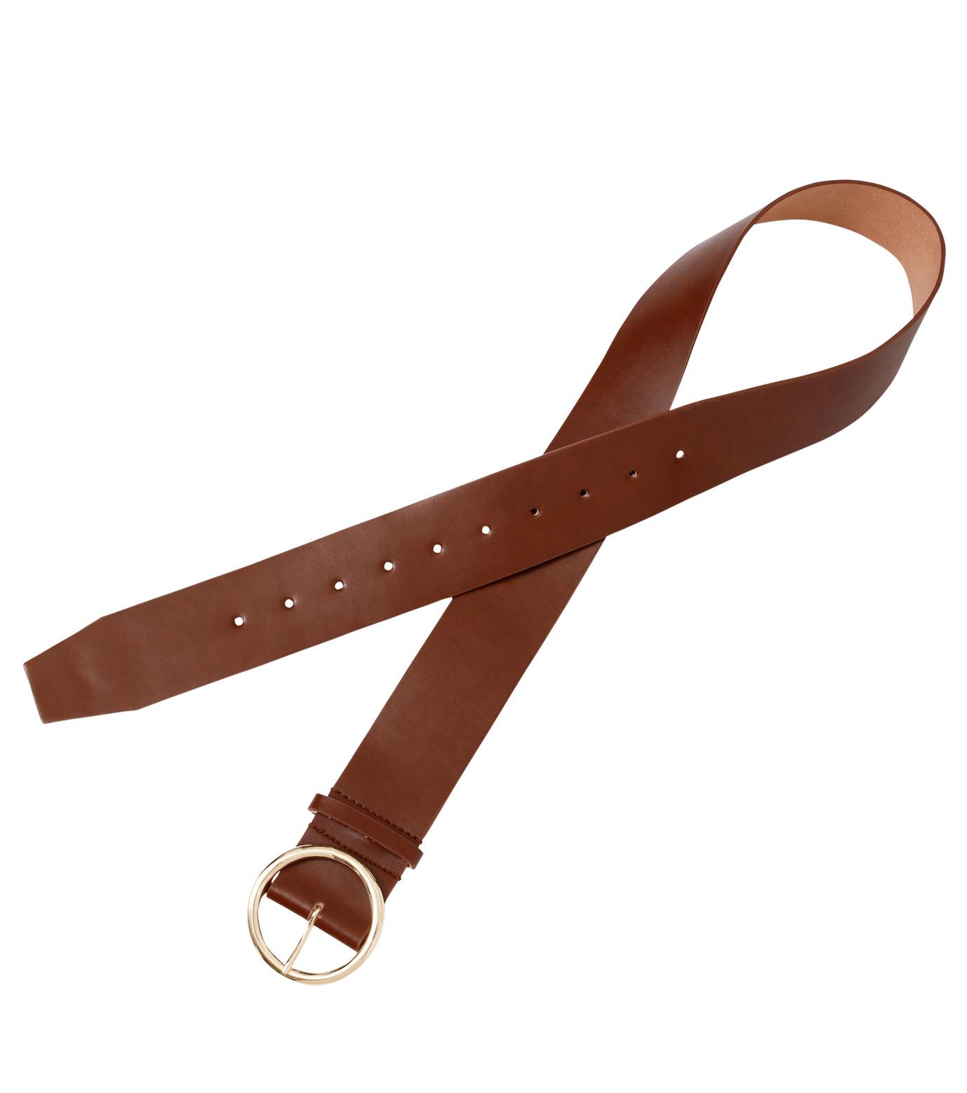 Casselini(キャセリーニ)のRing Buckle Belt-CAMEL(ベルト/belt)-24-0413-53 拡大詳細画像2