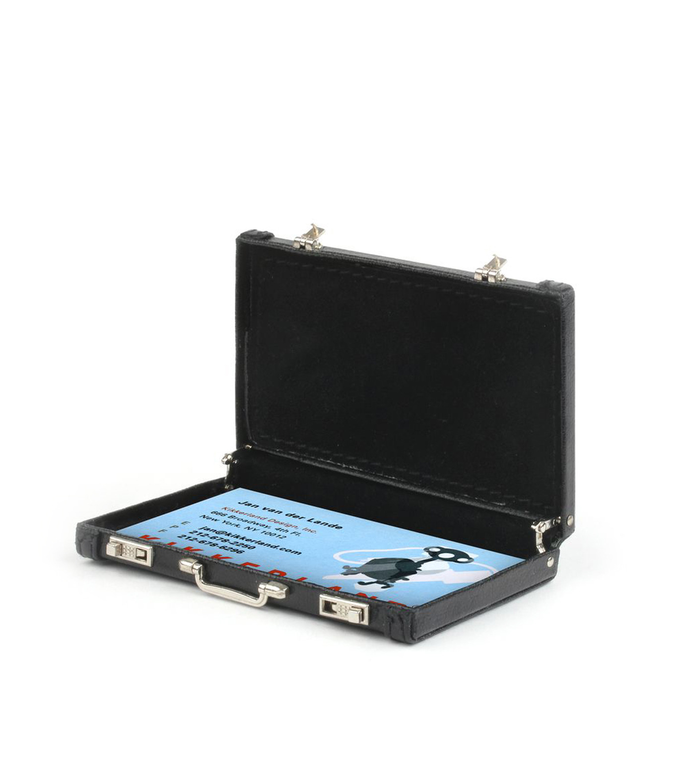 Kikker Land(キッカーランド)のMini Briefcase Black-BLACK(アザーズ/others)-2543BK-13 拡大詳細画像1