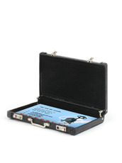 Kikker Land Mini Briefcase Black