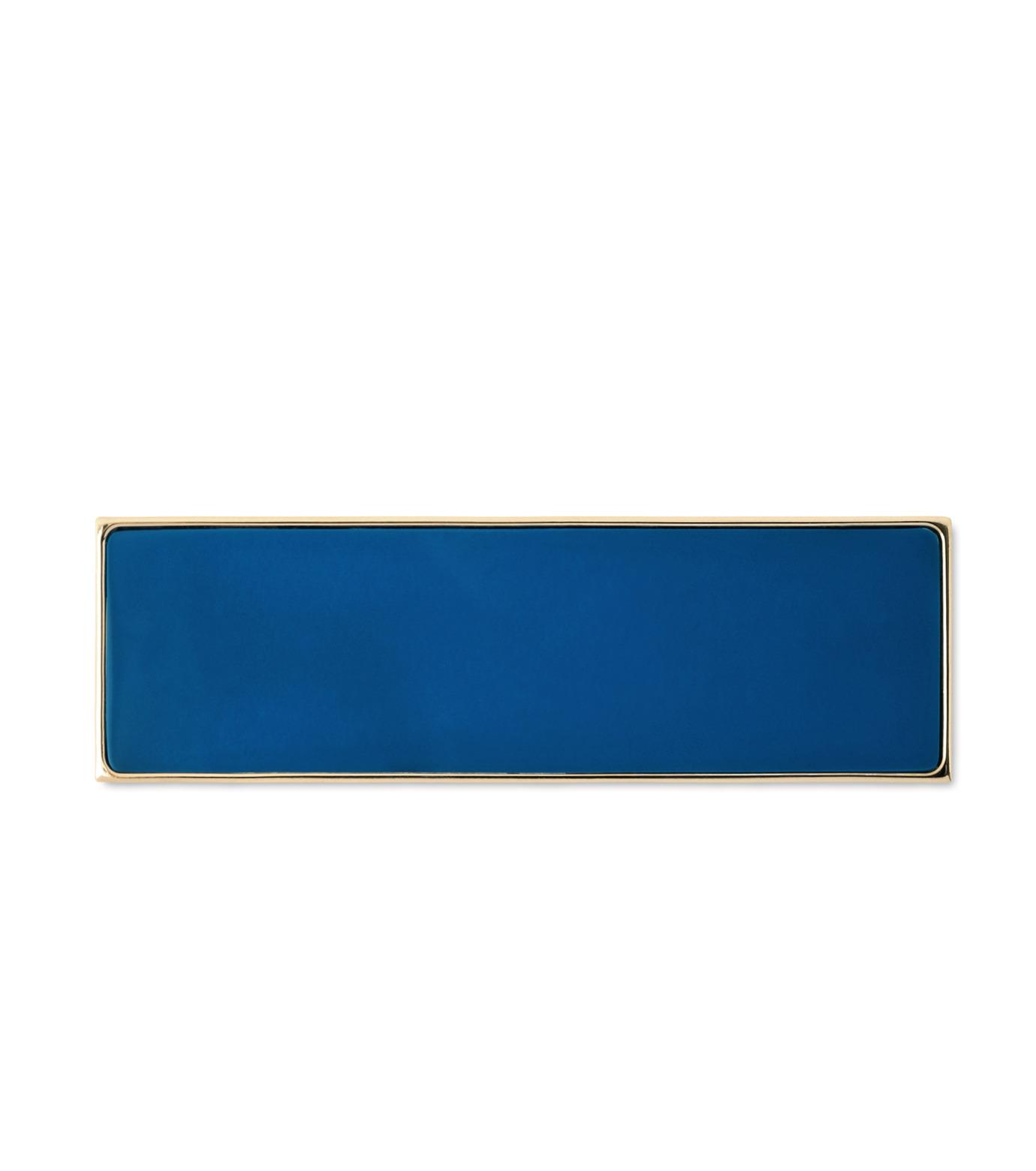 Sylvio Giardina(シルビオ・ジャルディーナ)のRectangle Brooch-BLUE(アクセサリー/accessory)-25S-92 拡大詳細画像1