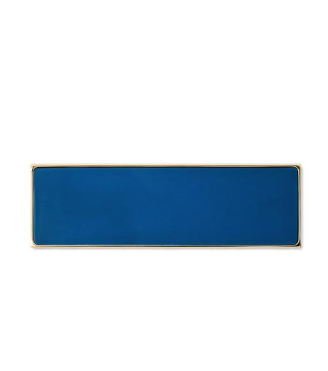 Sylvio Giardina(シルビオ・ジャルディーナ)のRectangle Brooch-BLUE(アクセサリー/accessory)-25S-92 詳細画像1