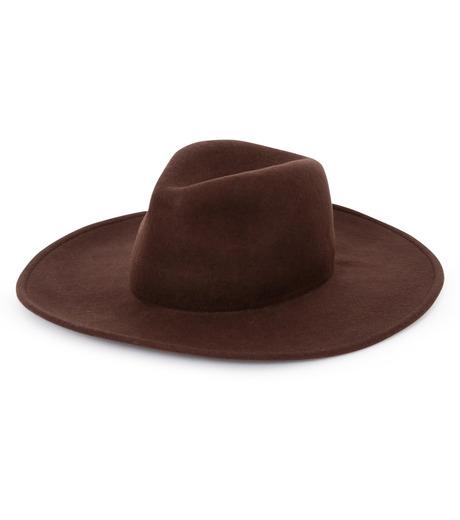 Casselini(キャセリーニ)のWool Hat-BROWN(キャップ/cap)-27-0991-42 詳細画像1
