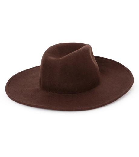 Casselini(キャセリーニ)のWool Hat-BROWN(キャップ/cap)-27-0991-42 詳細画像2
