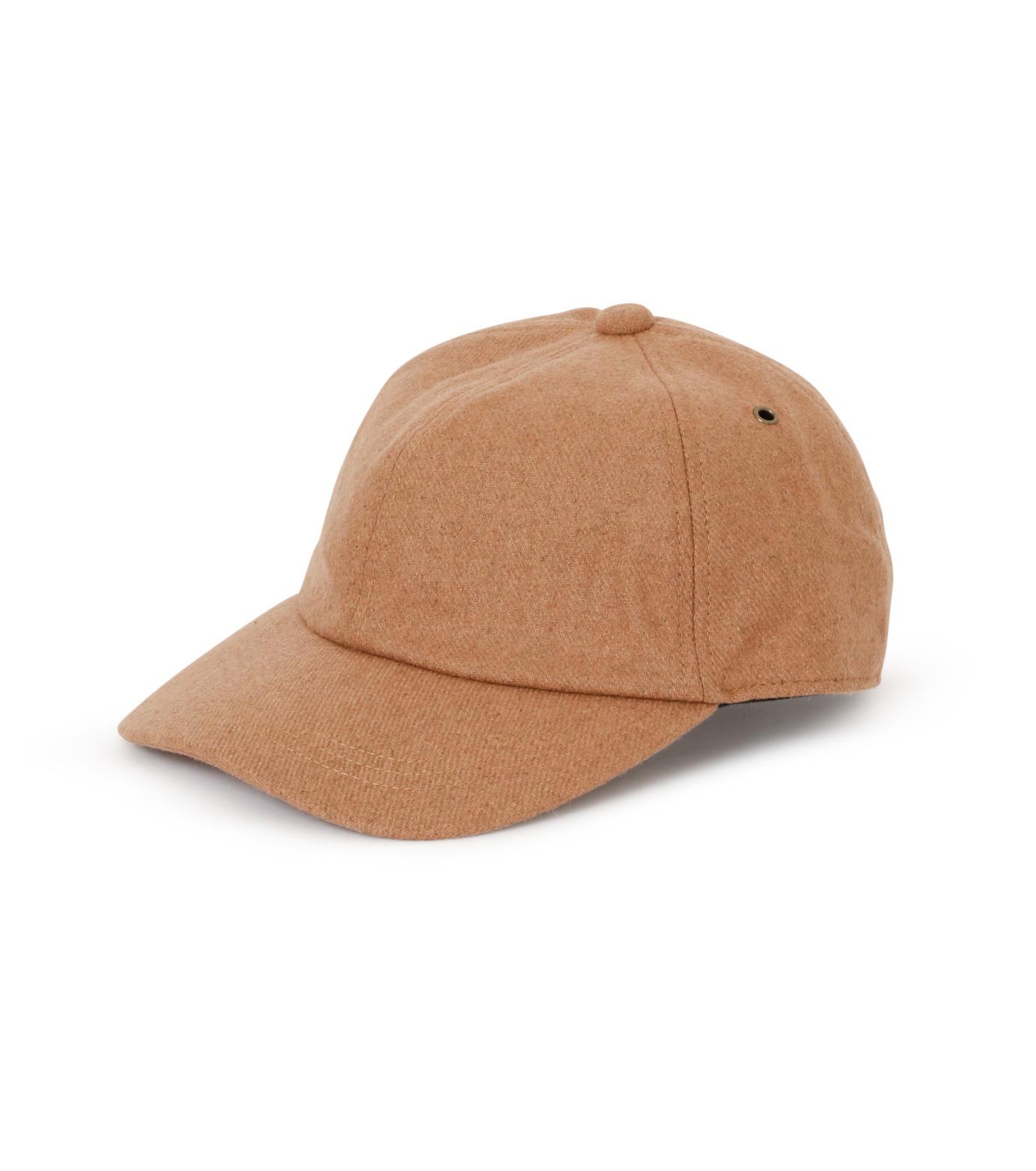 Casselini(キャセリーニ)のWool Cap-CAMEL(キャップ/cap)-27-0995-53 拡大詳細画像1