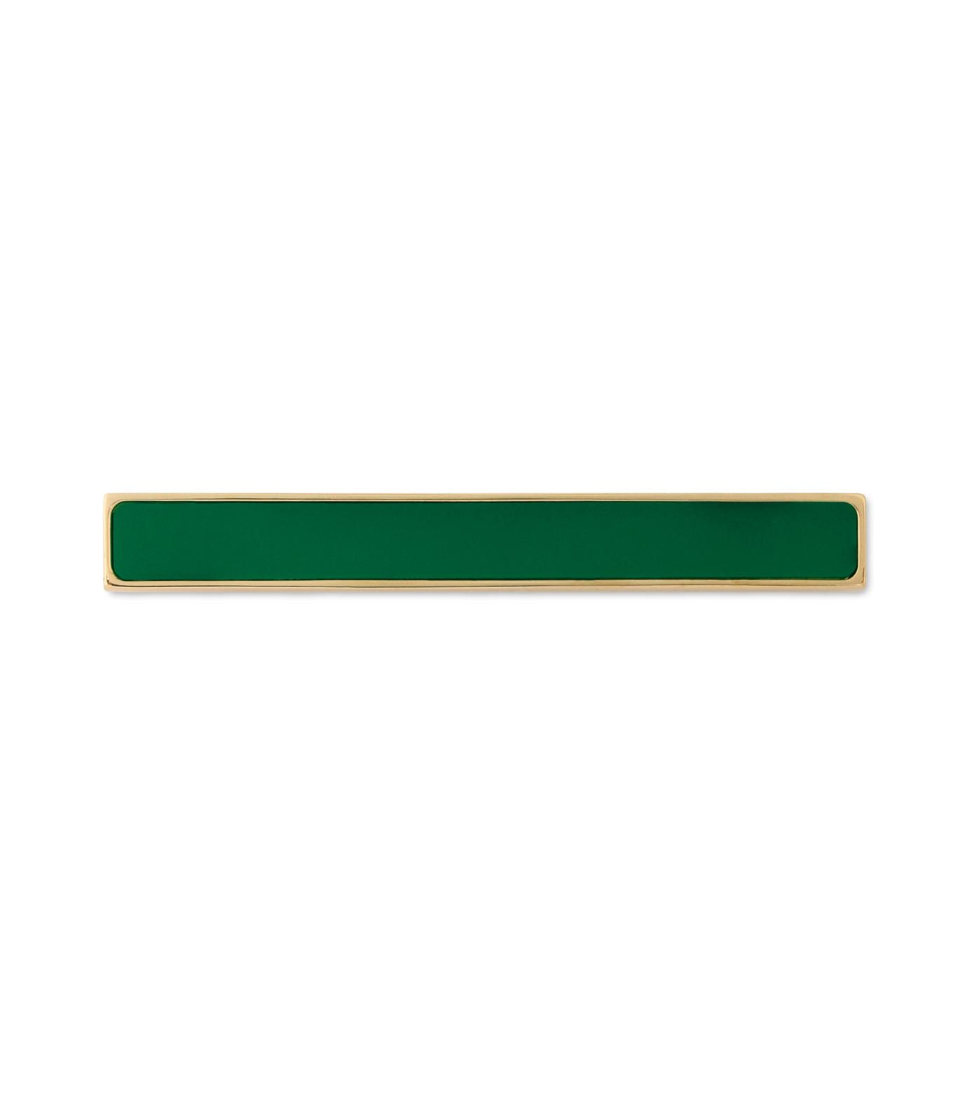 Sylvio Giardina(シルビオ・ジャルディーナ)のLine Brooch-GREEN(アクセサリー/accessory)-27S-22 拡大詳細画像1