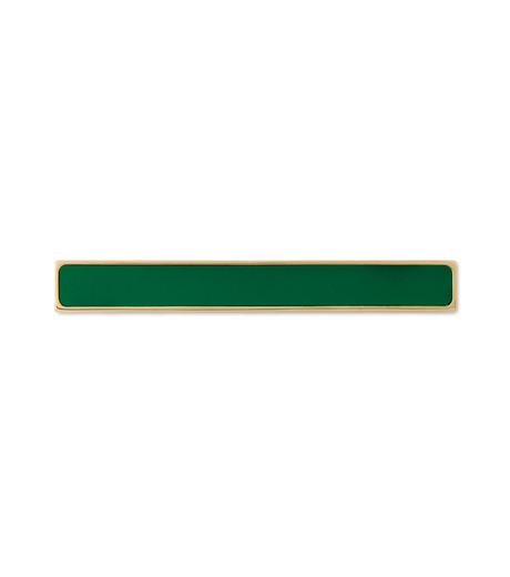 Sylvio Giardina(シルビオ・ジャルディーナ)のLine Brooch-GREEN(アクセサリー/accessory)-27S-22 詳細画像1