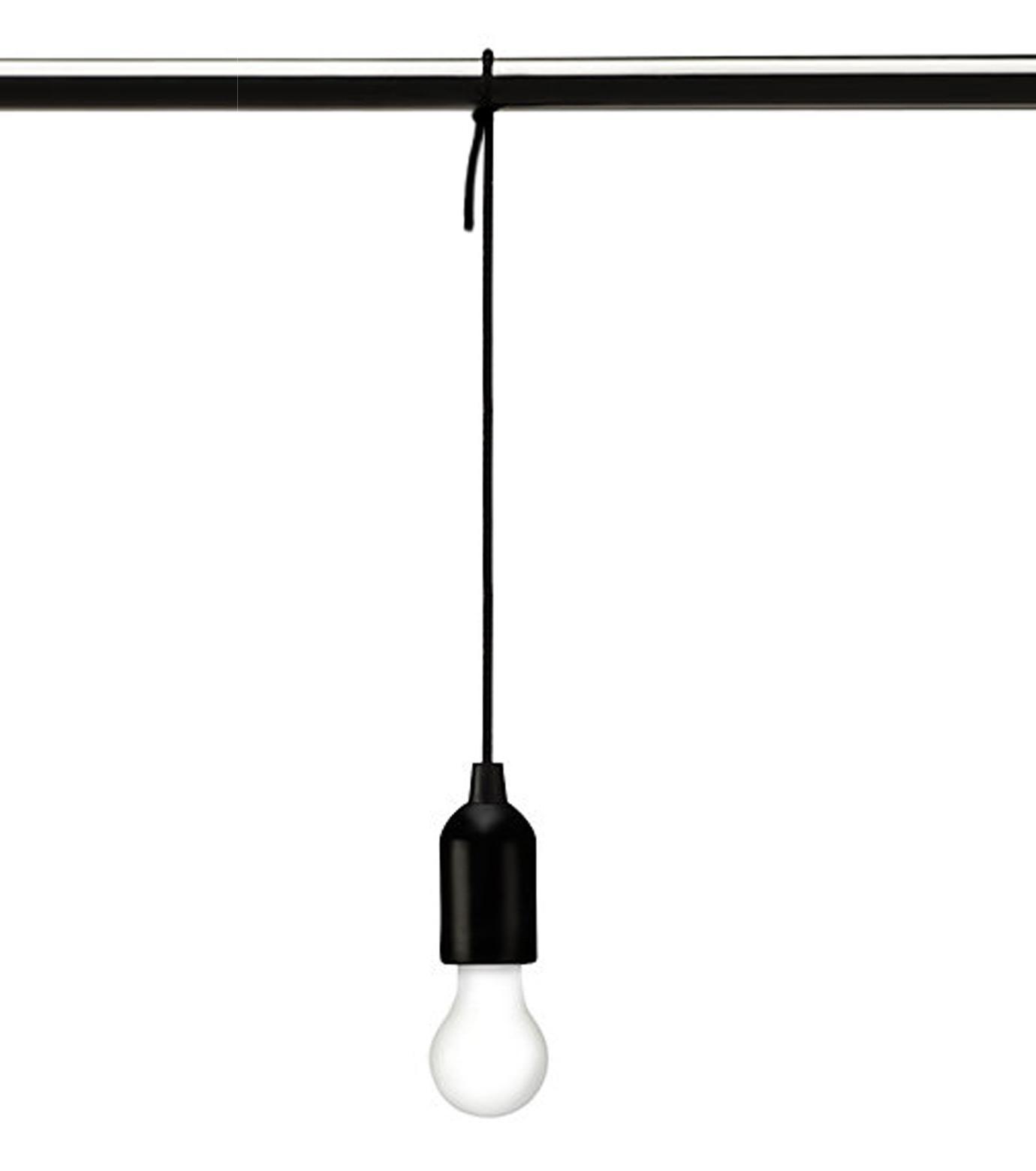 Kikker Land(キッカーランド)のPull Cord Light-BLACK(ガジェット/gadgets)-2818-13 拡大詳細画像1