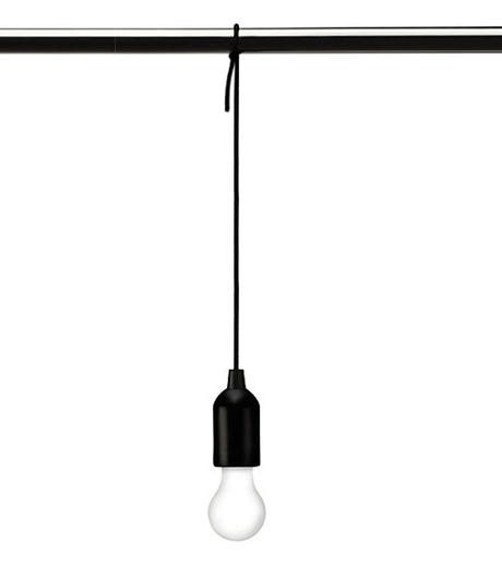 Kikker Land(キッカーランド)のPull Cord Light-BLACK(ガジェット/gadgets)-2818-13 詳細画像1
