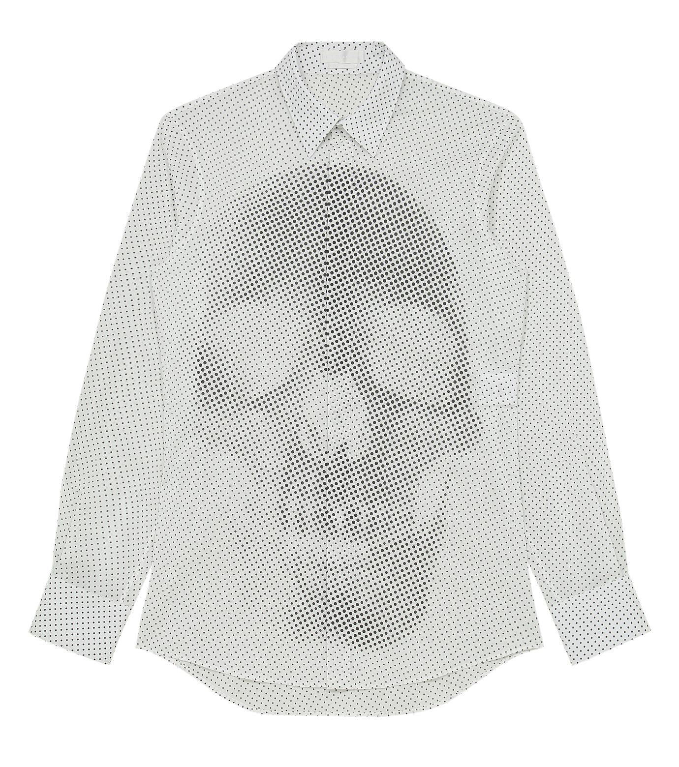 Alexander McQueen(アレキサンダーマックイーン)のSkul dots shirt-WHITE-283024-QW601-4 拡大詳細画像1