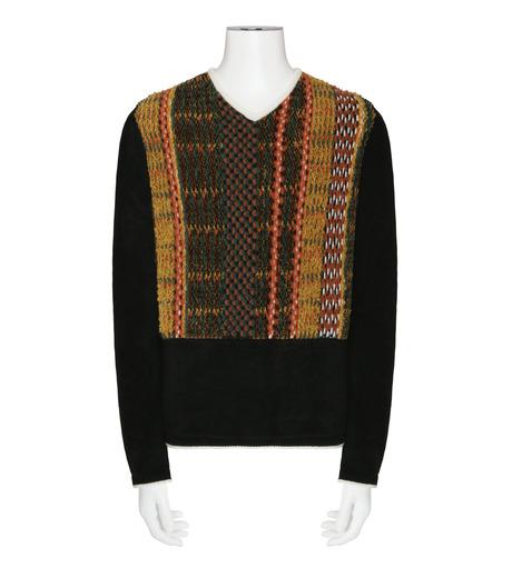 ACNE STUDIOS(アクネ ストゥディオズ)のMulti Pattern Knit-MULTI COLOUR(ニット/knit)-29D164-9 詳細画像1