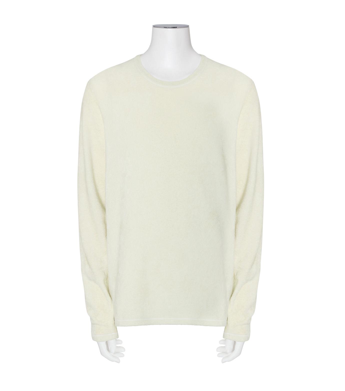 ACNE STUDIOS(アクネ ストゥディオズ)のFleese Longsleeve-WHITE(ニット/knit)-29H164-5 拡大詳細画像1