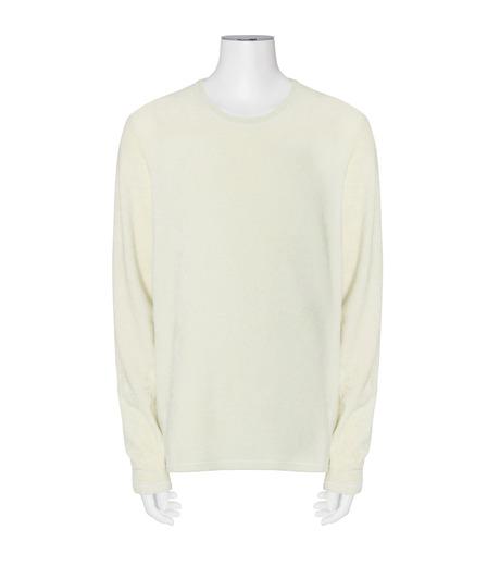 ACNE STUDIOS(アクネ ストゥディオズ)のFleese Longsleeve-WHITE(ニット/knit)-29H164-5 詳細画像1