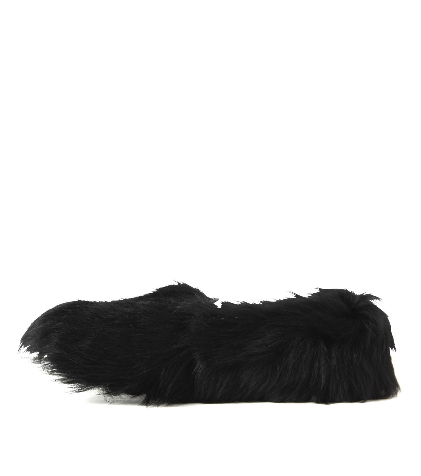 ACNE STUDIOS(アクネ ストゥディオズ)のBalto Fur Slipon-BLACK(シューズ/shoes)-2E0144-13 拡大詳細画像2