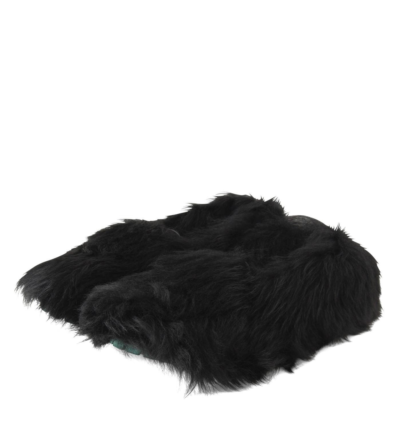 ACNE STUDIOS(アクネ ストゥディオズ)のBalto Fur Slipon-BLACK(シューズ/shoes)-2E0144-13 拡大詳細画像4