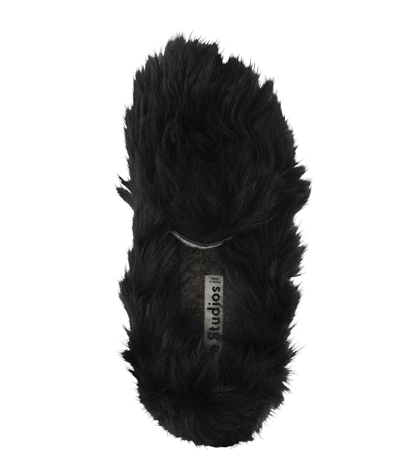 ACNE STUDIOS(アクネ ストゥディオズ)のBalto Fur Slipon-BLACK(シューズ/shoes)-2E0144-13 拡大詳細画像5