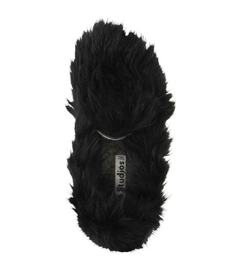 ACNE STUDIOS(アクネ ストゥディオズ)のBalto Fur Slipon-BLACK(シューズ/shoes)-2E0144-13 詳細画像5