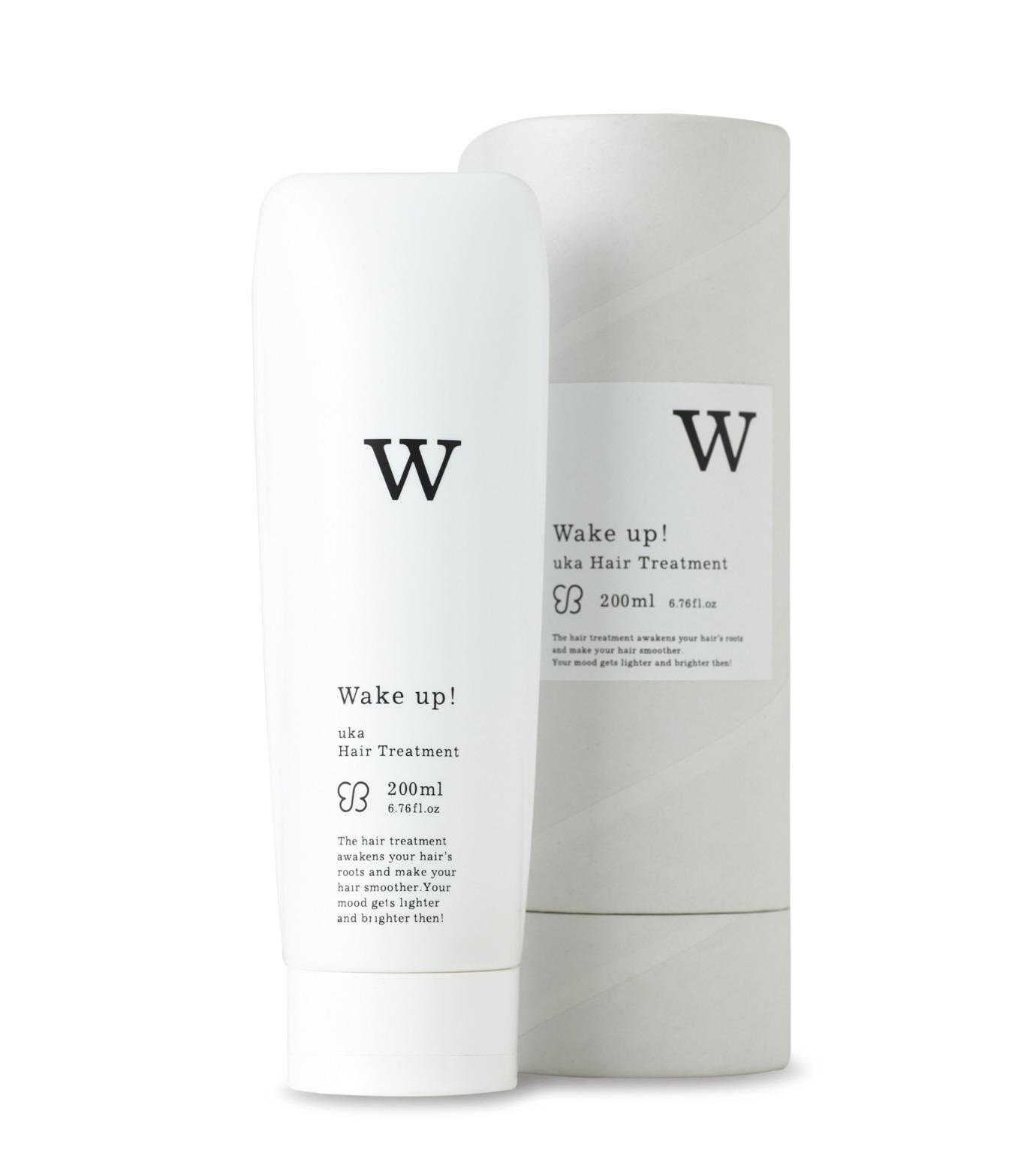 uka(ウカ)のHair Treatment -Wake Up!--WHITE(HAIR-CARE/HAIR-CARE)-3000003-4 拡大詳細画像1