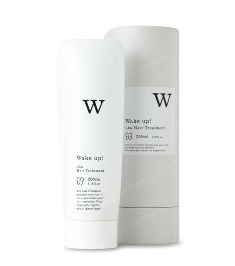 uka(ウカ)のHair Treatment -Wake Up!--WHITE(HAIR-CARE/HAIR-CARE)-3000003-4 詳細画像1