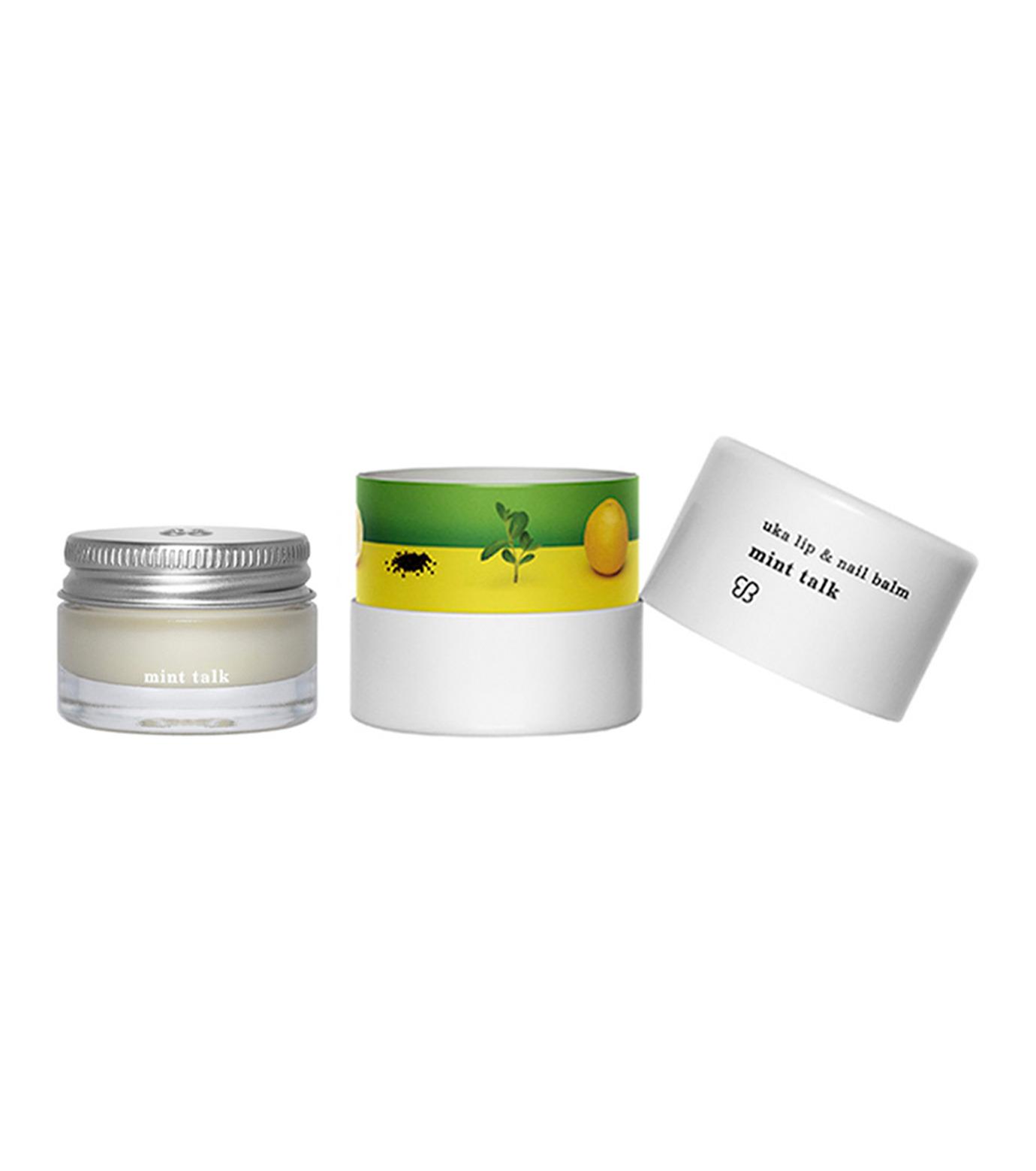 uka(ウカ)のuka lip & nail balm mint talk-WHITE(コスメティックス/cosmetics)-3000019-4 拡大詳細画像1