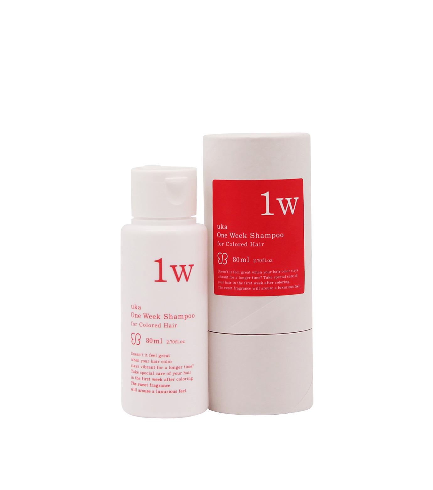 uka(ウカ)のOne Week Shampoo for Colored Hair-WHITE(HAIR-CARE/HAIR-CARE)-3000148-4 拡大詳細画像1