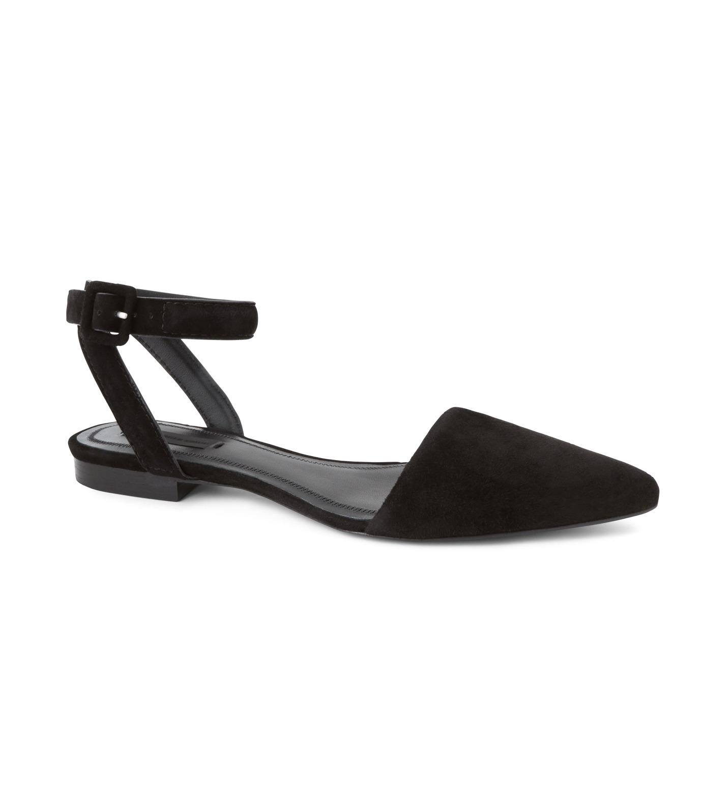 Alexander Wang(アレキサンダーワン)のLauren Flat-BLACK(シューズ/shoes)-301129P16-13 拡大詳細画像1