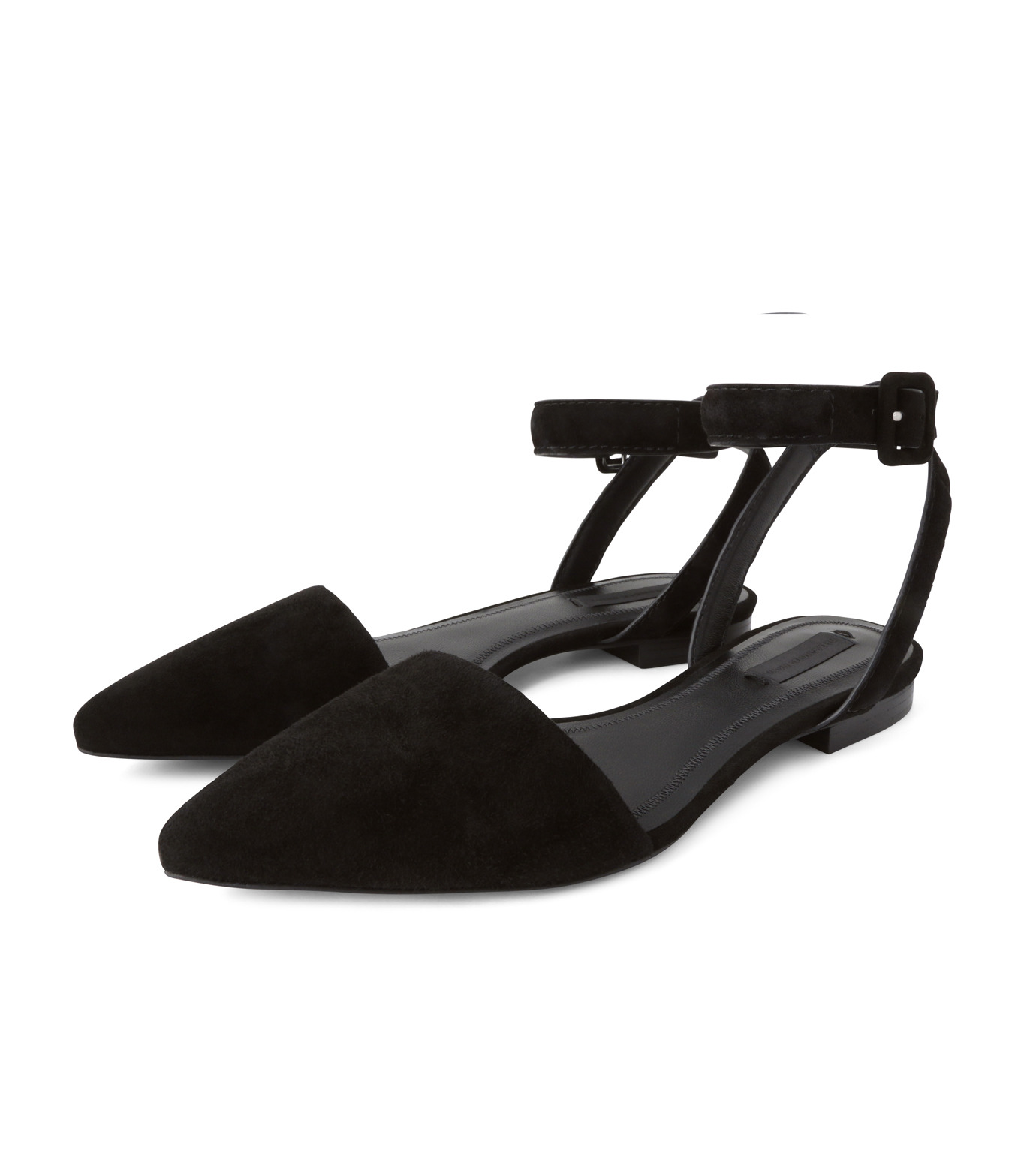 Alexander Wang(アレキサンダーワン)のLauren Flat-BLACK(シューズ/shoes)-301129P16-13 拡大詳細画像3