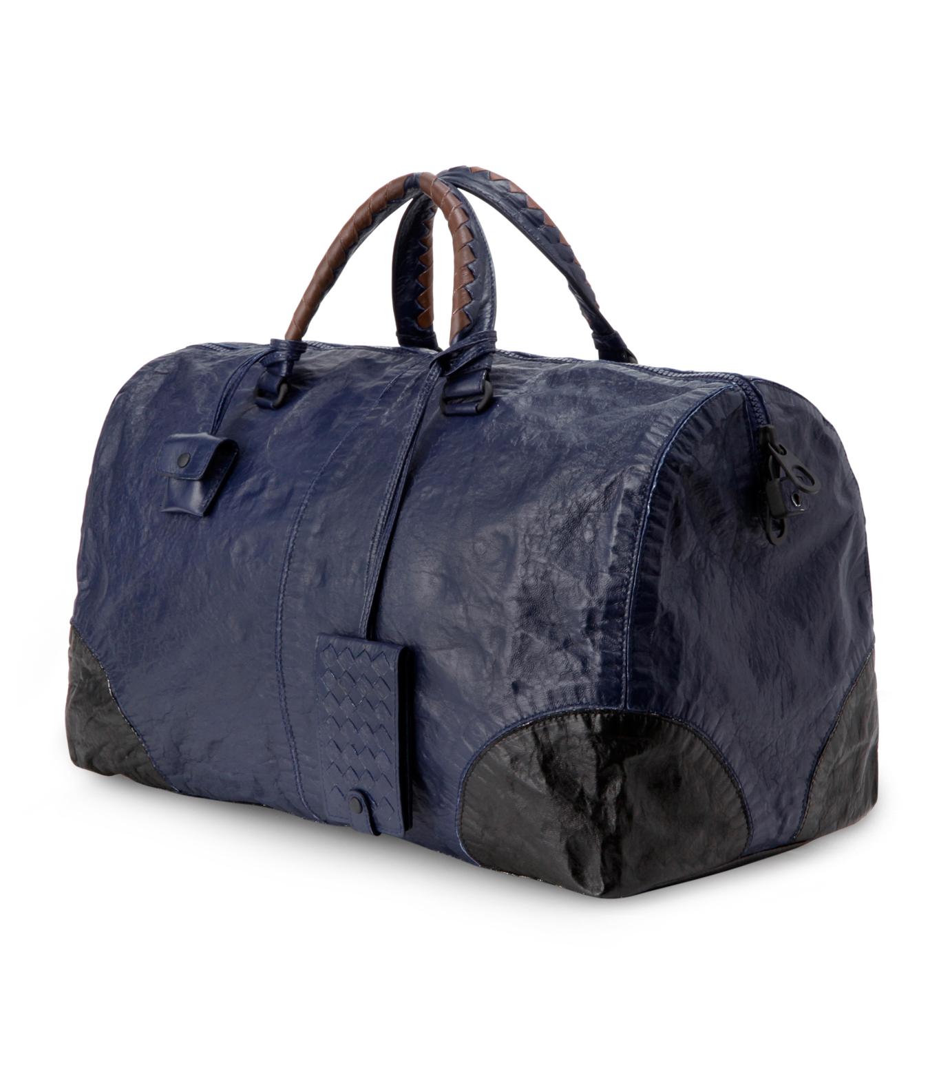 Bottega Veneta(ボッテガ ヴェネタ)のBoston bag-BLUE-302638-VX730-92 拡大詳細画像2