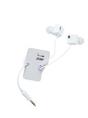 DCI Earbud & cord wrp set: keybrd