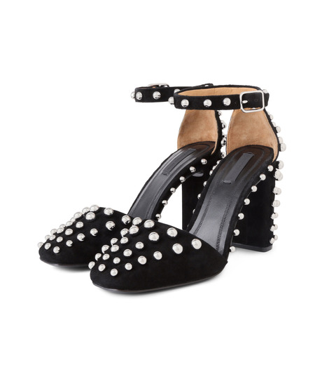 Alexander Wang(アレキサンダーワン)のElise Studded Sandal-BLACK(シューズ/shoes)-303104F16-13 詳細画像3
