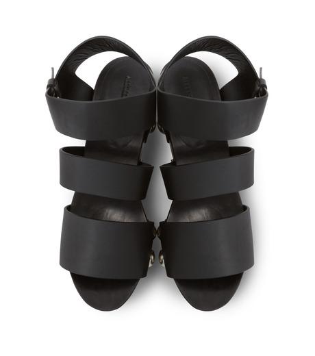 Alexander Wang(アレキサンダーワン)のTess Wooden Platform Sandal-BLACK(シューズ/shoes)-304132P16-13 詳細画像4