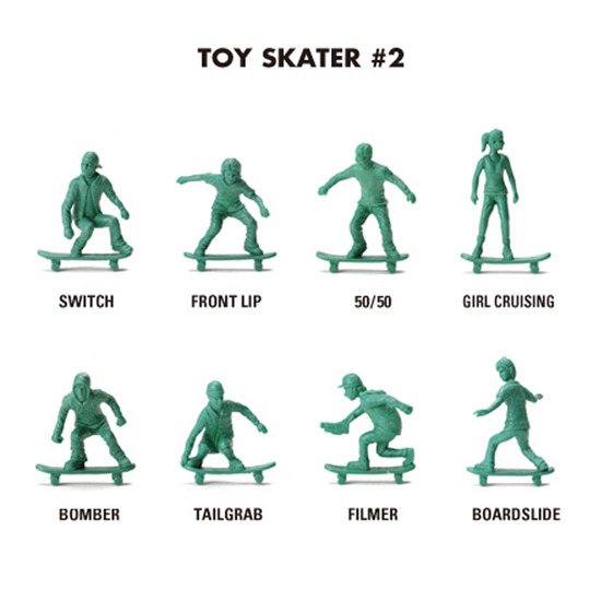 DETAIL(ディテール)のToy Skater #2-WHITE(OTHER-GOODS/OTHER-GOODS)-3044SK2-4 詳細画像1