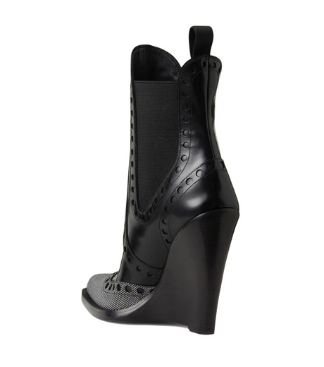 Alexander Wang(アレキサンダーワン)のNadja Wedge Bootie-BLACK(シューズ/shoes)-306102P14-13 詳細画像2