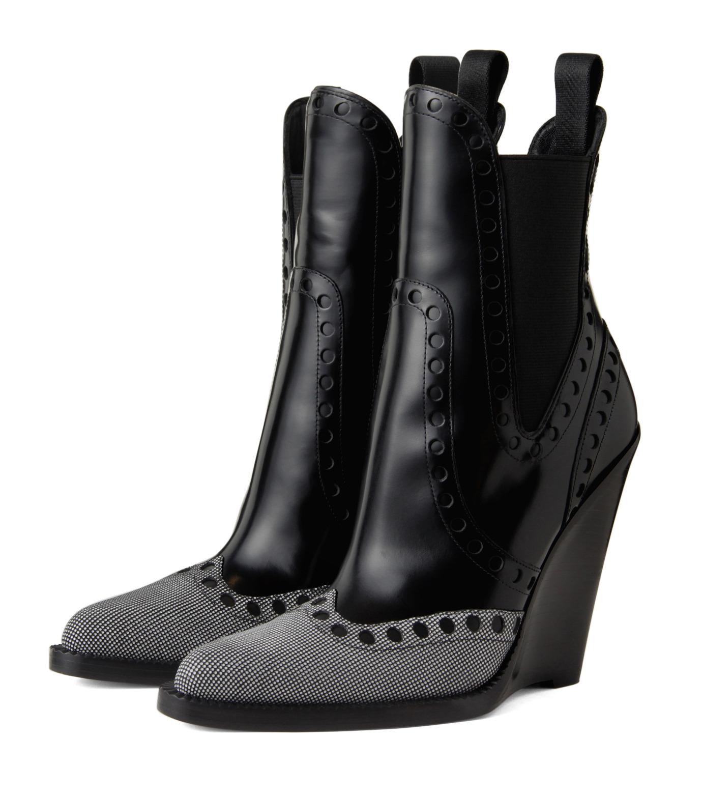 Alexander Wang(アレキサンダーワン)のNadja Wedge Bootie-BLACK(シューズ/shoes)-306102P14-13 拡大詳細画像3