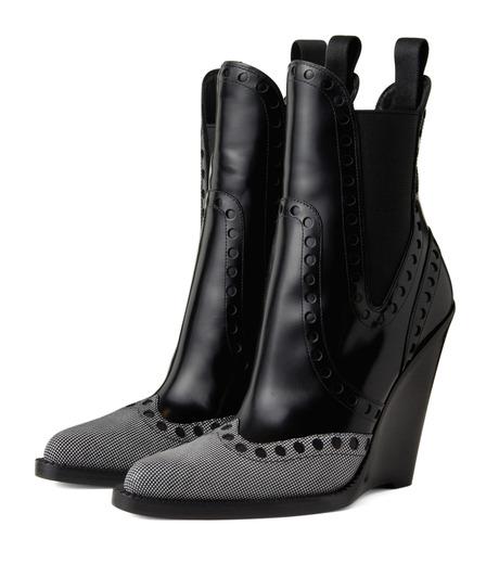 Alexander Wang(アレキサンダーワン)のNadja Wedge Bootie-BLACK(シューズ/shoes)-306102P14-13 詳細画像3