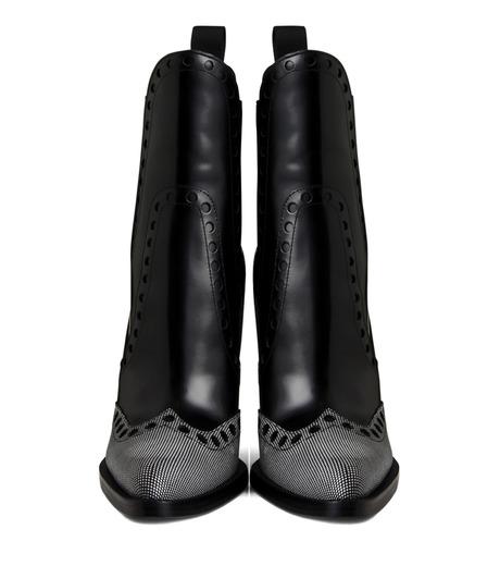 Alexander Wang(アレキサンダーワン)のNadja Wedge Bootie-BLACK(シューズ/shoes)-306102P14-13 詳細画像4