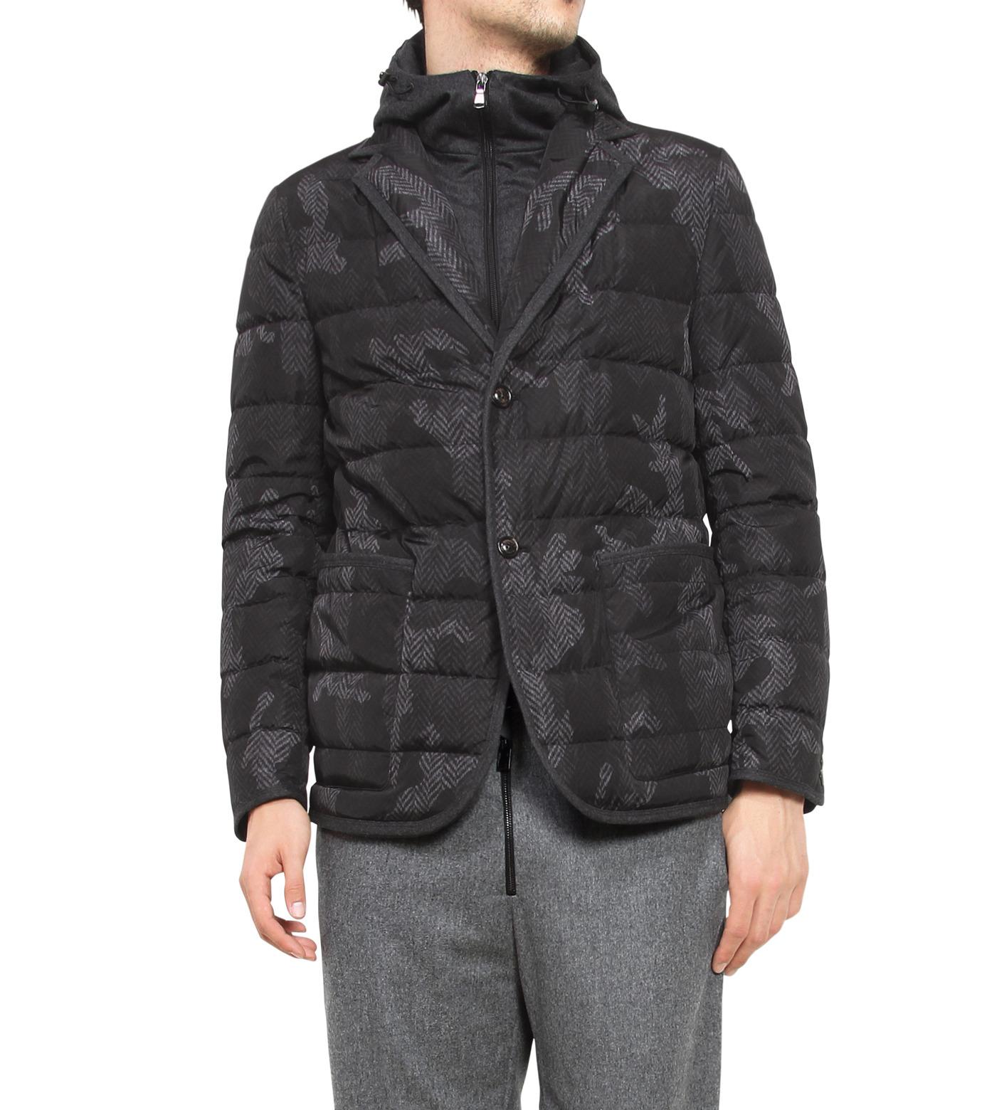 Moncler(モンクレール)のROCHER-CHARCHOL GRAY(ジャケット/jacket)-309558053710-12 拡大詳細画像1