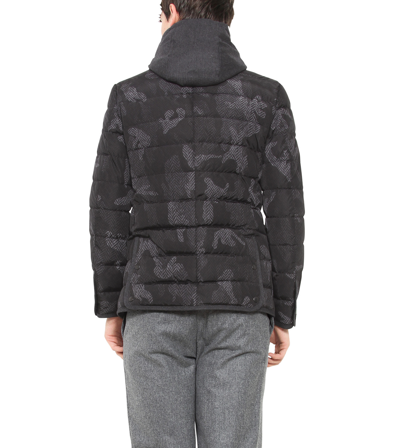 Moncler(モンクレール)のROCHER-CHARCHOL GRAY(ジャケット/jacket)-309558053710-12 拡大詳細画像2