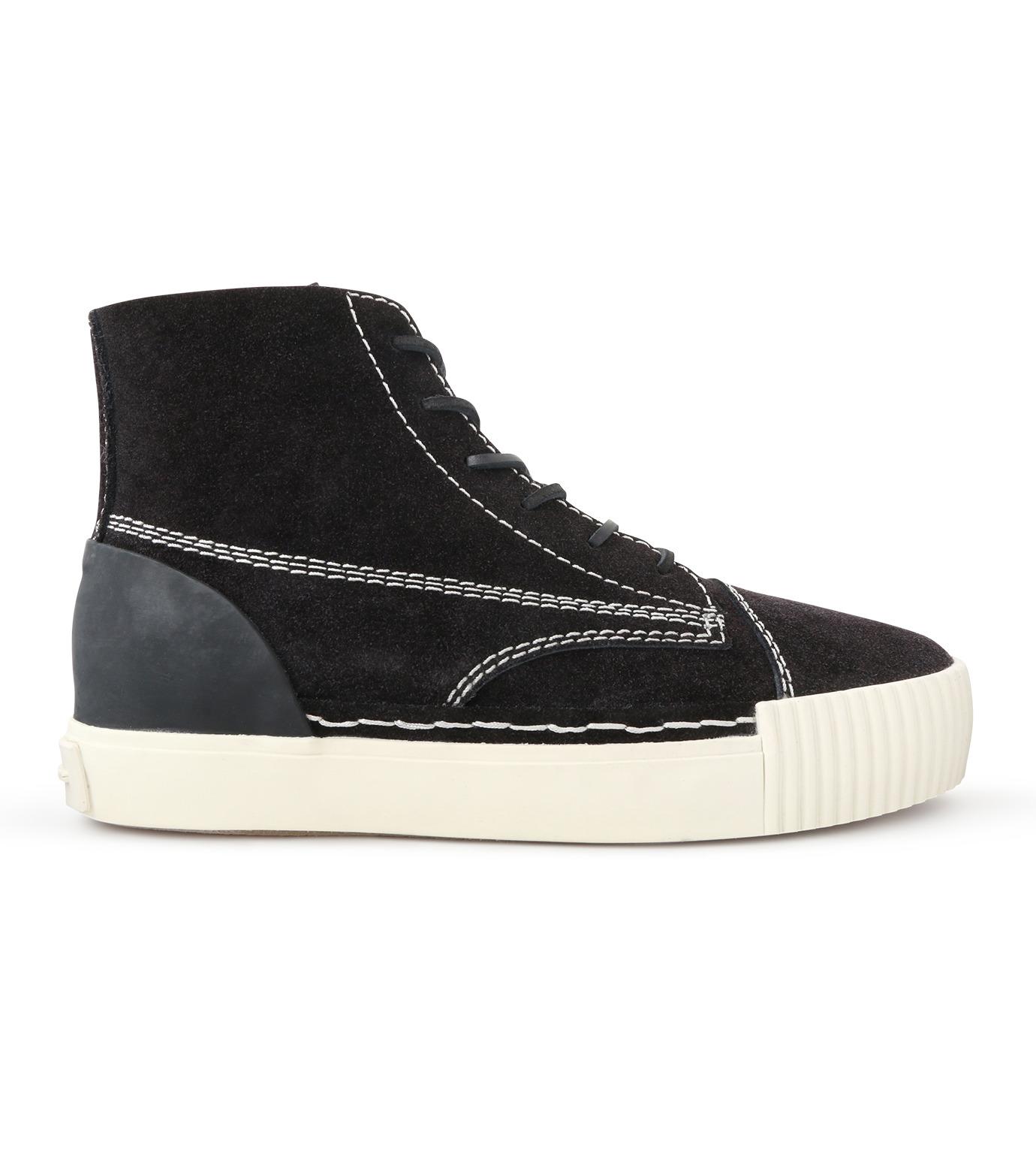 Alexander Wang(アレキサンダーワン)のHicut Sneaker-BLACK(スニーカー/sneaker)-315122F16-13 拡大詳細画像1