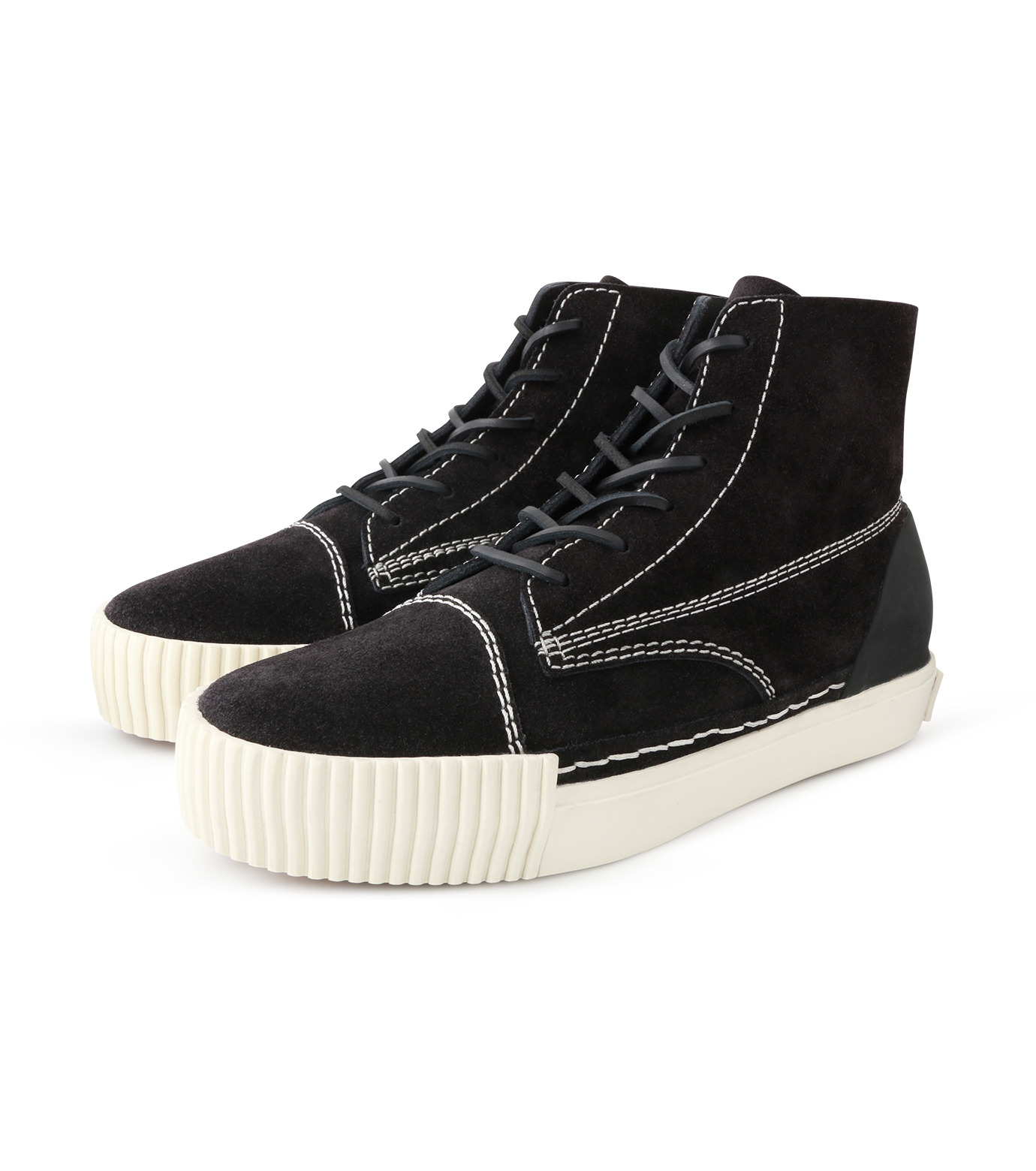 Alexander Wang(アレキサンダーワン)のHicut Sneaker-BLACK(スニーカー/sneaker)-315122F16-13 拡大詳細画像3